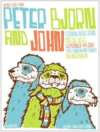 Peter Bjorn and John Secret Show