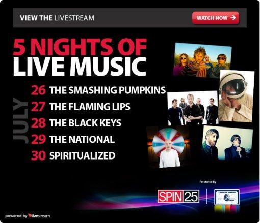 Spin 25 LiveStream
