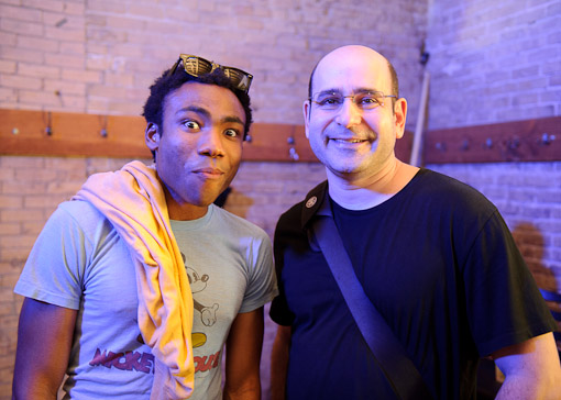 Donald Glover and A Fan