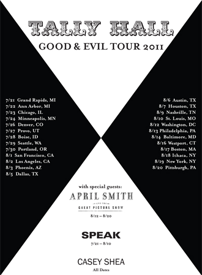 Tally Hall 2011 Tour