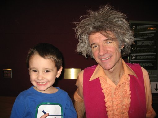 Dan Zanes and a Fan