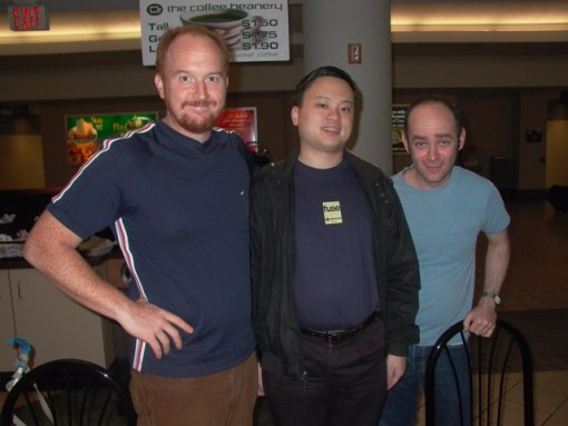 Louis C.K., William Hung and Todd Barry