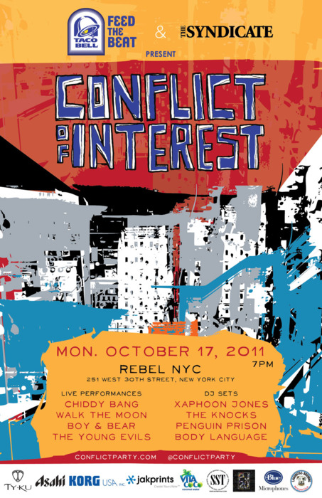 Conflict of Interest at CMJ 2011