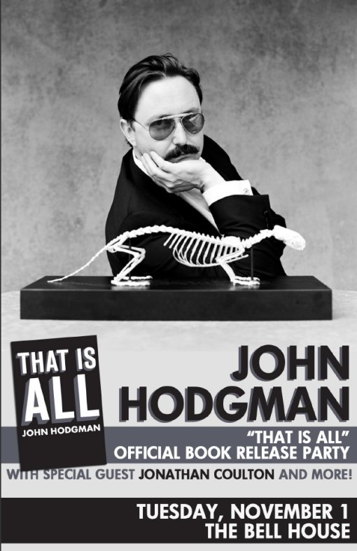 John Hodgman - That Is All Book Release Party