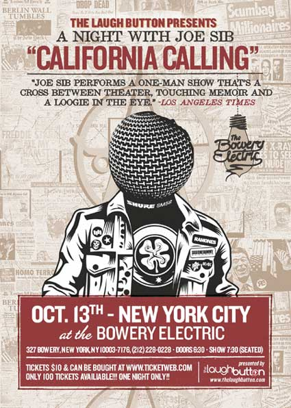 The Laugh Button Presents: California Calling