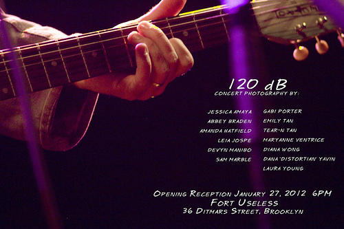 120db Concert Photography