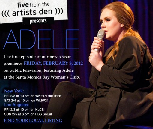 The Artists Den - Adele