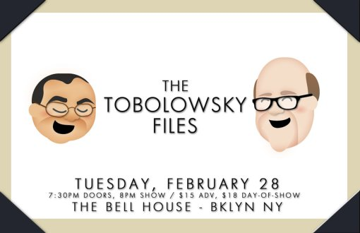 The Tobolowsky Files Live at The Bell House!