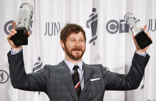 Dan Mangan at The Junos