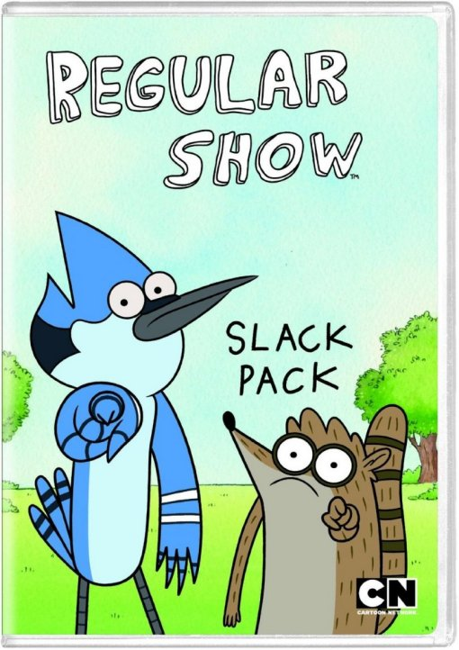 The Regular Show Slack Pack DVD