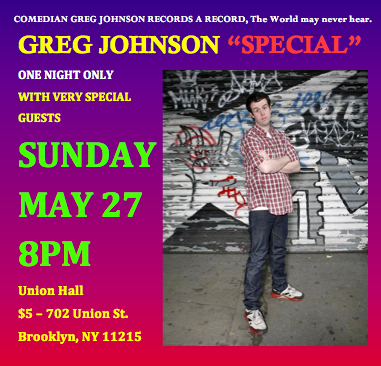 Greg Johnson Special