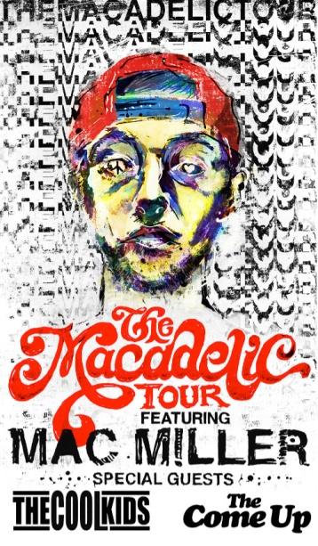 Macadelic Tour Poster