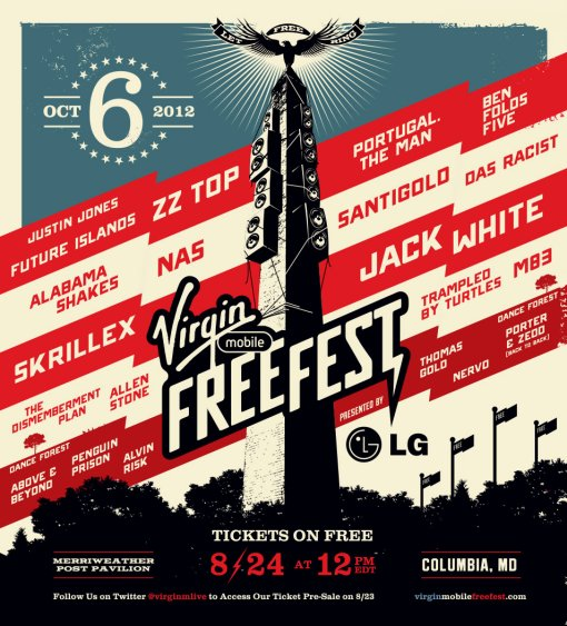 2012 Virgin Mobile FreeFest