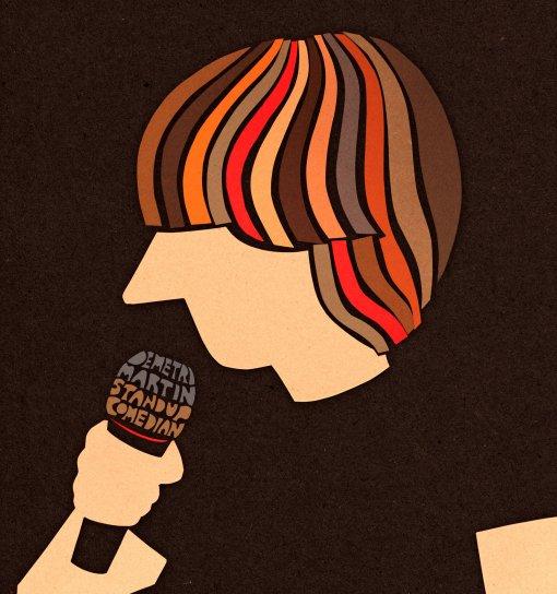 Demetri Martin. Standup Comedian.