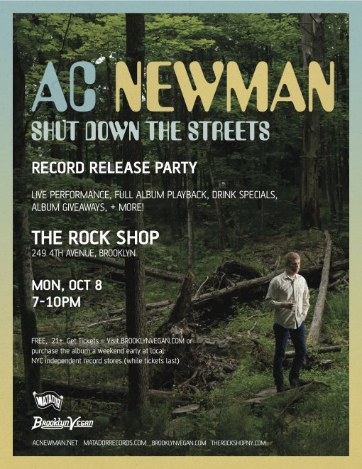AC Newman - Record Release Show