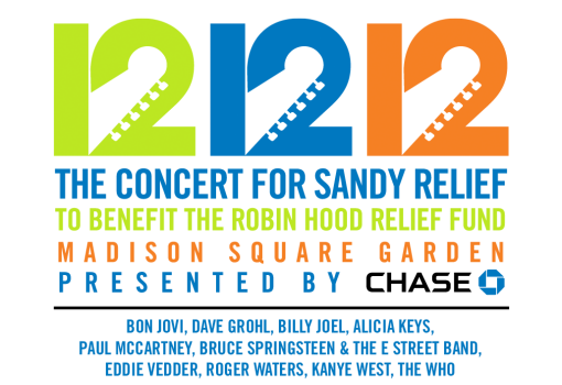 121212 Concert for Hurricane Sandy Relief
