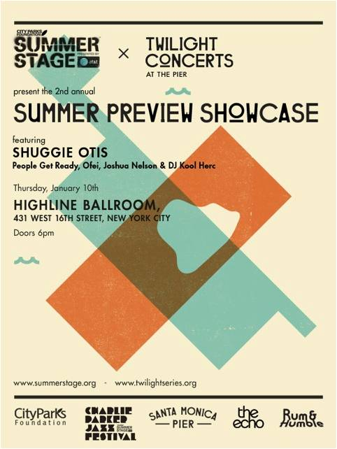 Summerstage Preview