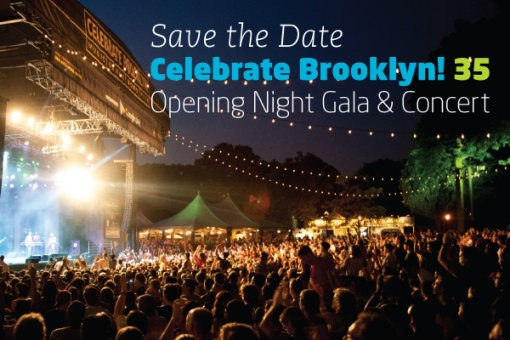 Celebrate Brooklyn Save The Date