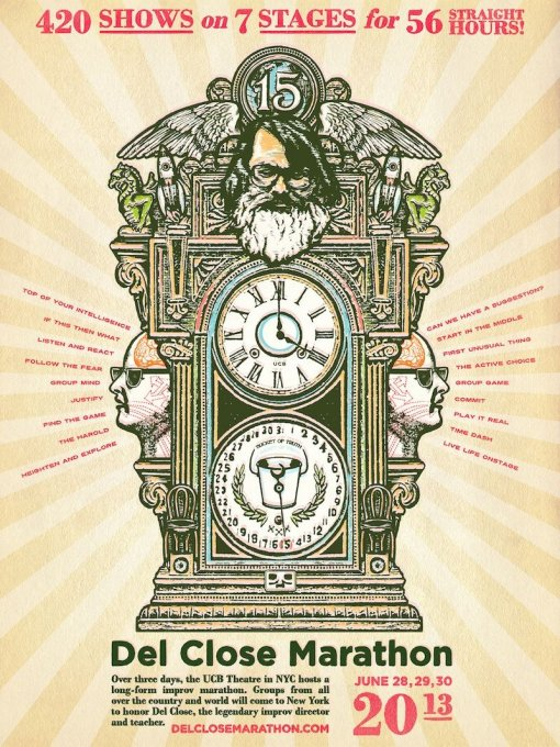 15th Annual Del Close Marathon