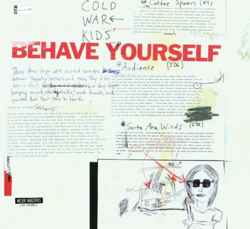 Cold War Kids - Behave Yourself EP
