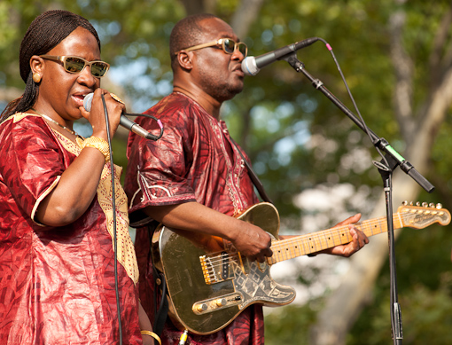 Amadou & Mariam at Summerstage