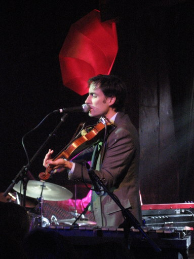 Andrew Bird at the Hiro Ballroom