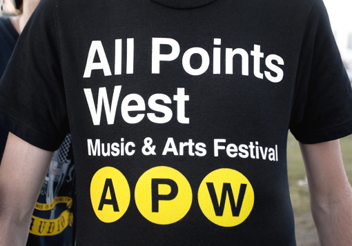 All Points West T-Shirt