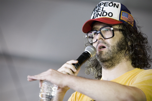 Judah Friedlander at All Points West