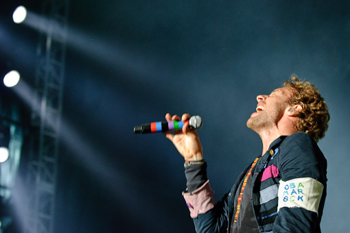 Chris Martin at All Points West