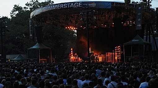 The Black Keys at Summerstage