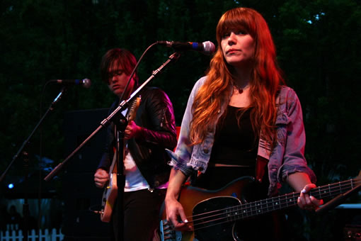 Jenny and Johnny at Bumbershoot 2010