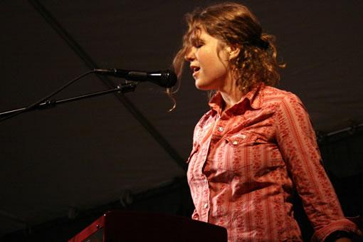 Laura Veirs at Bumbershoot 2010