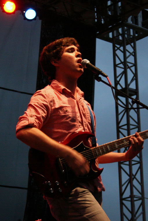 Surfer Blood at Bumbershoot 2010