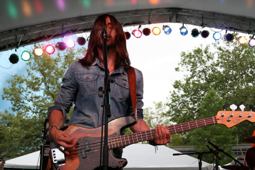 The Whigs at Bumbershoot 2010