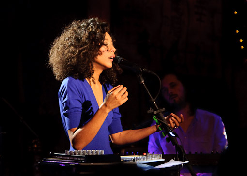 Corinne Bailey Rae at Hiro Ballroom
