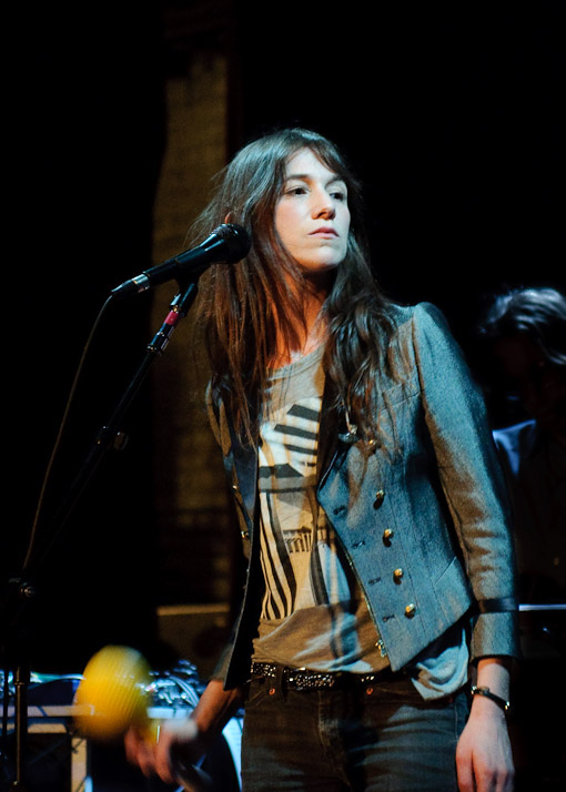 Charlotte Gainsbourg at The Bell House