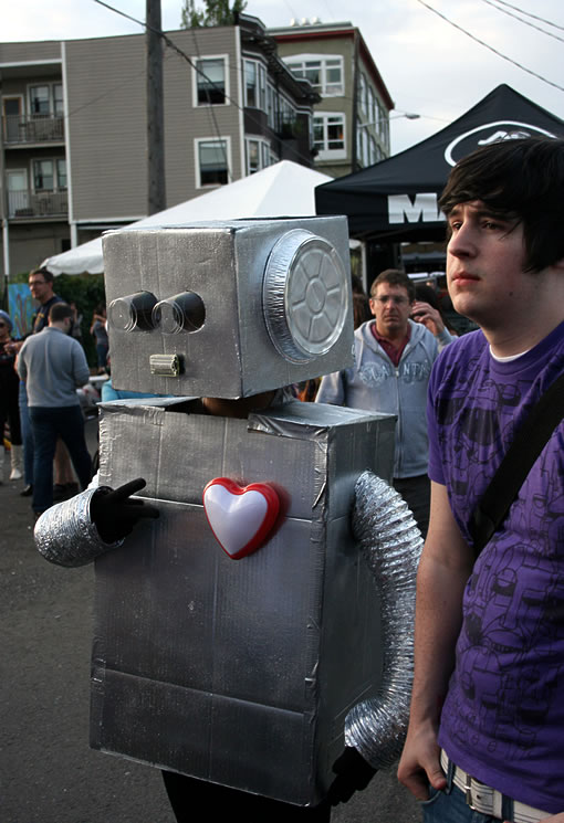 Robot Love at the Capitol Hill Block Party