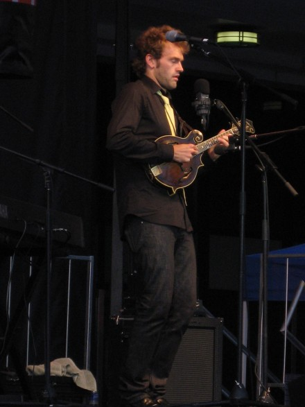 Chris Thile at The River to River Festival