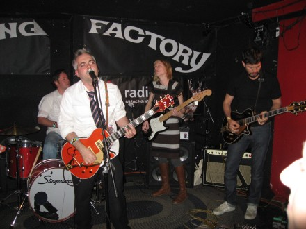 The Awkward Stage at The Knitting Factory