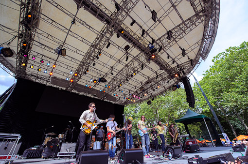 Diamond Rugs at Central Park Summerstage