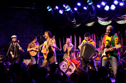 Gogol Bordello at Brooklyn Bowl