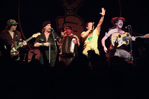 Gogol Bordello at Irving Plaza