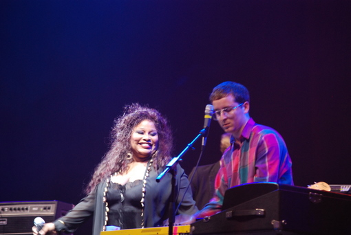 Hot Chip w/ Chaka Khan at xXx