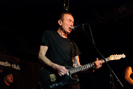 Hugh Cornwell at the Media Club