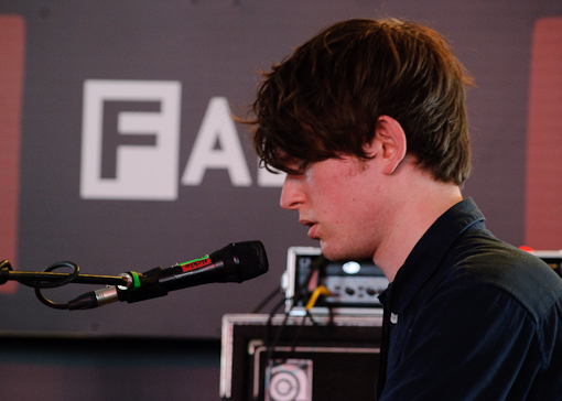 James Blake at FADER Fort