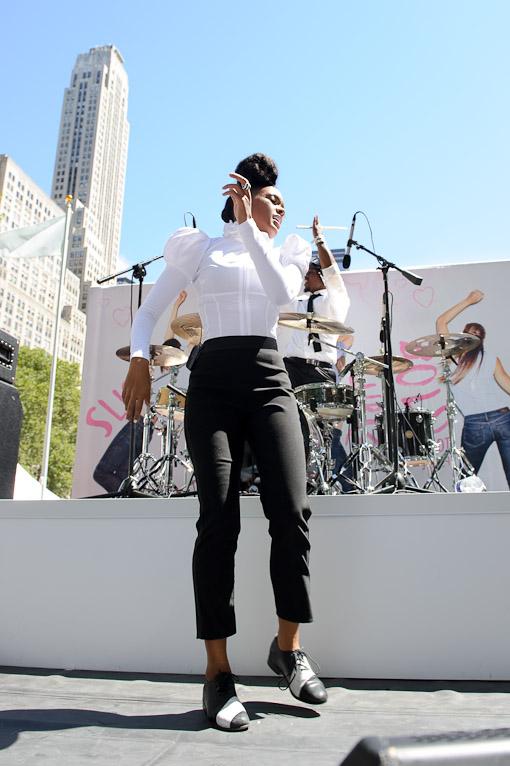 Janelle Monae at Bryant Park