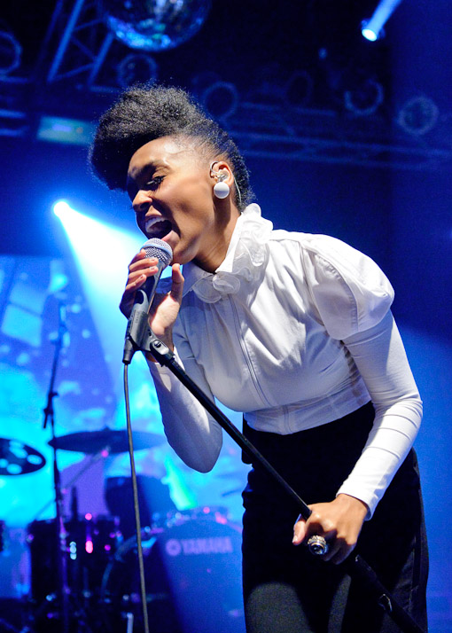 Janelle Monae at Highline Ballroom