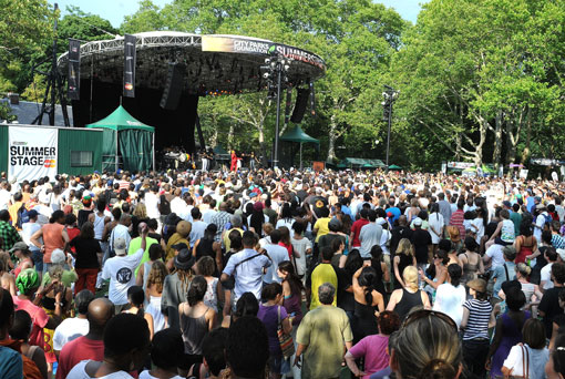 Jimmy Cliff at SummerStage