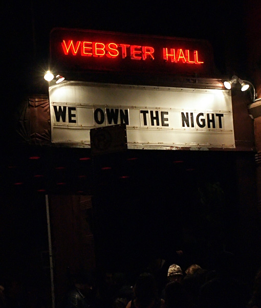 M83 at Webster Hall