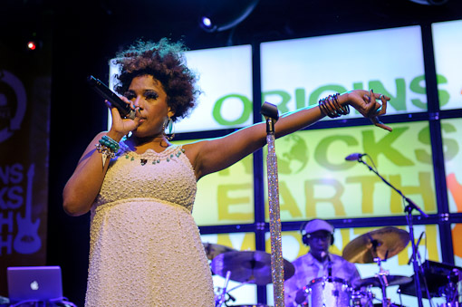Macy Gray at Webster Hall